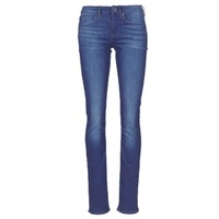 Kleidung Damen Straight Leg Jeans G-Star Raw MIDGE SADDLE MID STRAIGHT Blau