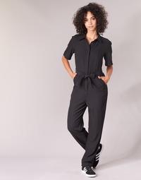 Kleidung Damen Overalls / Latzhosen G-Star Raw BRISTUM DC JUMPSUIT Schwarz