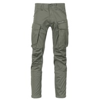 Kleidung Herren Cargo Hosen G-Star Raw ROVIC ZIP 3D STRAIGHT TAPERED Grau / Grün