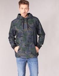 Kleidung Herren Jacken G-Star Raw STOR ANORAK OVERSHIRT Blau / Grün