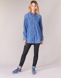 Kleidung Damen Röhrenjeans G-Star Raw LYNN MID SKINNY Blau / Dark