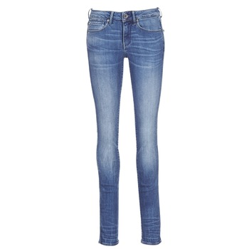 Kleidung Damen Straight Leg Jeans G-Star Raw MIDGE MID STRAIGHT Blau / Indigo