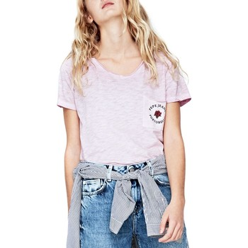 Kleidung Mädchen T-Shirts Pepe jeans YUI TEEN Rosa
