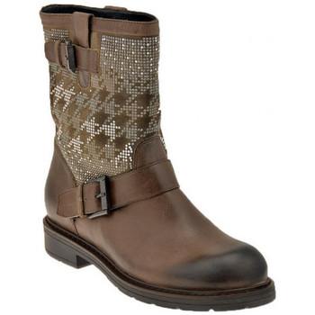 Schuhe Damen Low Boots Janet&Janet Pompierino halbstiefel Grau