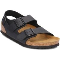 Schuhe Herren Sandalen / Sandaletten Birkenstock Milano Braun, Graphit