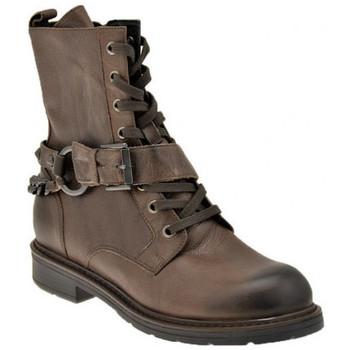 Schuhe Damen Low Boots Janet&Janet Amphibien-Zip halbstiefel Grau
