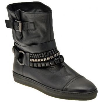 Schuhe Damen Low Boots Janet&Janet Socket-Stadt halbstiefel Schwarz