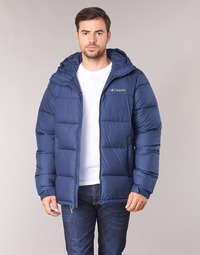 Kleidung Herren Daunenjacken Columbia PIKE LAKE HOODED JACKET Marine