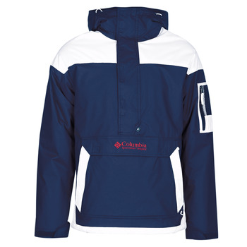 Kleidung Herren Jacken Columbia CHALLENGER PULLOVER Marine / Weiss