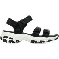 Schuhe Damen Sportliche Sandalen Skechers D'Lites Fresh Catch Schwarz