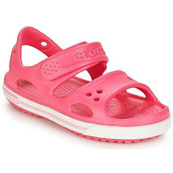 Schuhe Mädchen Sandalen / Sandaletten Crocs CROCBAND II SANDAL PS Rose