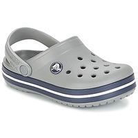 Schuhe Kinder Pantoletten / Clogs Crocs CROCBAND CLOG K Grau / Marine