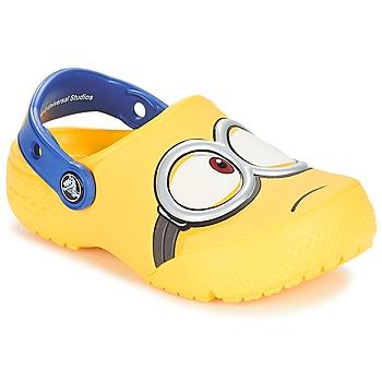 Schuhe Kinder Pantoletten / Clogs Crocs CROCS FUNLAB MINIONS CLOG Gelb