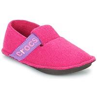 Schuhe Mädchen Hausschuhe Crocs CLASSIC SLIPPER K Rose