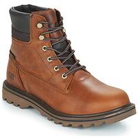 Schuhe Herren Boots Caterpillar DEPLETE WP Braun