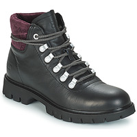 Schuhe Damen Low Boots Caterpillar HANDSHAKE Schwarz / Purpur