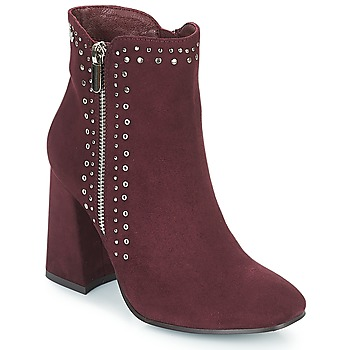 Schuhe Damen Low Boots Xti COUIASA Bordeaux