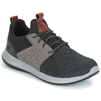 Schuhe Herren Sneaker Low Skechers DELSON CAMBEN Grau