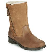 Schuhe Damen Boots Sorel EMELIE FOLDOVER Camel