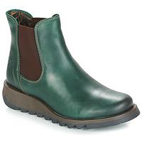 Schuhe Damen Boots Fly London SALV Grün