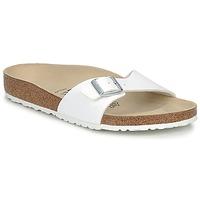 Schuhe Herren Pantoffel Birkenstock MADRID Weiss