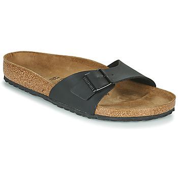 Schuhe Herren Pantoffel Birkenstock MADRID Schwarz