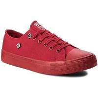 Schuhe Damen Sneaker Low Big Star AA274007 Rot