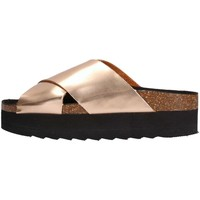 Schuhe Damen Pantoffel Colors of California HC.BES06 Slipper Damen Bronze Bronze