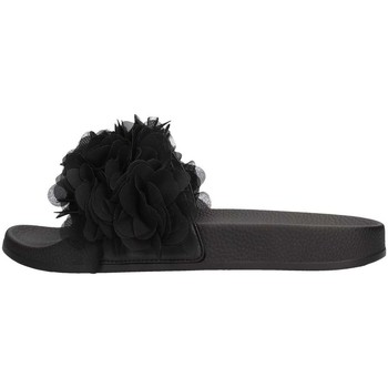 Schuhe Damen Pantoffel Colors of California HC.JINFY012 Slipper Damen Schwarz Schwarz