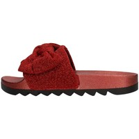 Schuhe Damen Pantoffel Colors of California HC.JINFY013 Slipper Damen rot rot