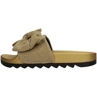 Schuhe Damen Pantoletten Colors of California HC.JINFY013 Slipper Damen Gold Gold