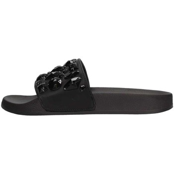 Schuhe Damen Pantoletten Colors of California HC.JINFY04 Slipper Damen Schwarz Schwarz