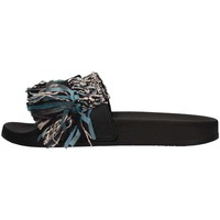 Schuhe Damen Pantoletten Colors of California HC.JINFY05 Slipper Damen Schwarz Schwarz