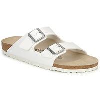 Schuhe Herren Pantoffel Birkenstock ARIZONA Weiss