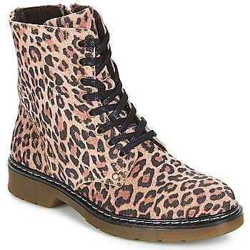 Schuhe Mädchen Boots Bullboxer LANA Leopard