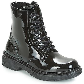 Schuhe Mädchen Boots Bullboxer LANA Schwarz
