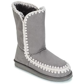 Schuhe Damen Klassische Stiefel LPB Shoes NATHALIE Grau
