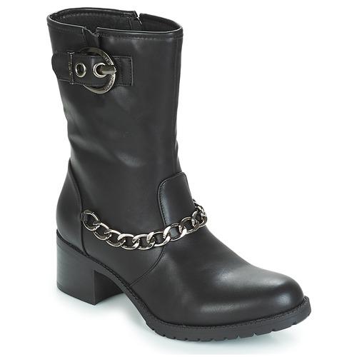 LPB Shoes LOANNE Schwarz  Schuhe Low Boots Damen 69,90