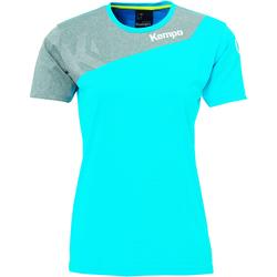 Kleidung Damen T-Shirts Kempa Maillot femme  Core 2.0 bleu flash/gris