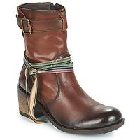 Schuhe Damen Low Boots Felmini URRACO Braun