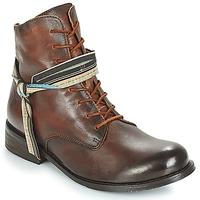Schuhe Damen Boots Felmini SANTIAGO Braun