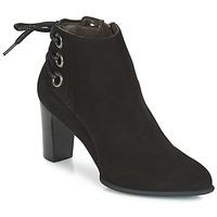 Schuhe Damen Low Boots Perlato OERAD Schwarz