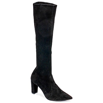 Schuhe Damen Klassische Stiefel Perlato JEANY Schwarz