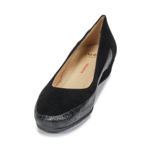 Perlato TRASA Ferrer / Schwarz  Schuhe Ballerinas Damen 134,12