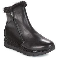 Schuhe Damen Boots Café Noir DEBARO Schwarz