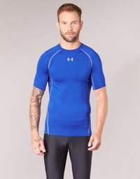 Kleidung Herren T-Shirts Under Armour UA HG ARMOUR SS COMPRESSION Blau