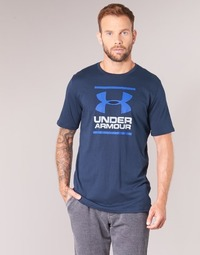 Kleidung Herren T-Shirts Under Armour UA GL FOUNDATION SS T Marine