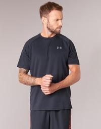 Kleidung Herren T-Shirts Under Armour UA TECH SS TEE Schwarz