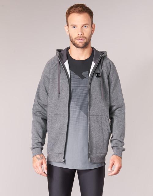 Kleidung Herren Sweatshirts Under Armour RIVAL FLEECE FZ HOODY Grau