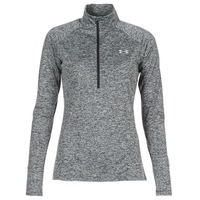 Kleidung Damen Langarmshirts Under Armour TECH 1/2 ZIP TWIST Schwarz